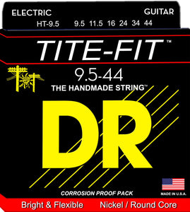 DR Tite-Fit Electric Guitar Strings 9.5-44 - Dynamic Music Distribution