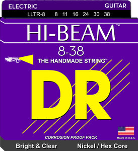 DR Hi-Beam Electric Guitar Strings 8-38 - Dynamic Music Distribution