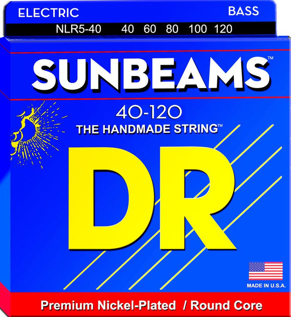 DR Sunbeam Bass Guitar 5Strings 40-120 - Dynamic Music Distribution