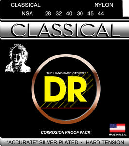 DR Class Nylon Strings Med 28-44 - Dynamic Music Distribution