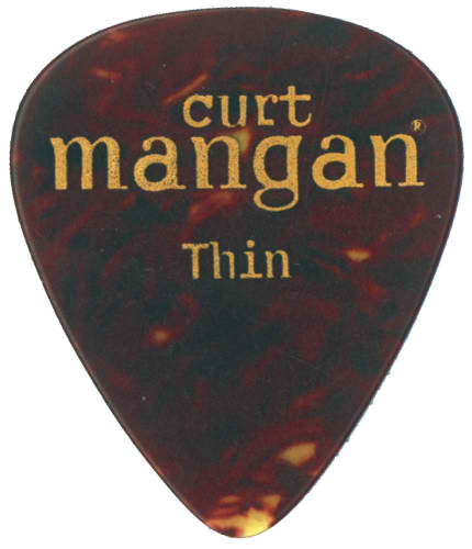 Curt Mangan Thin Celluloid Shell (12-Pak) Guitar Picks - Dynamic Music Distribution