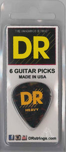 DR Tort Cell Pick 6Pc Pk Heavy - Dynamic Music Distribution