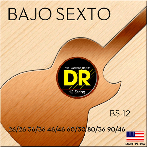 DR Bajo Sexto Strings - Dynamic Music Distribution