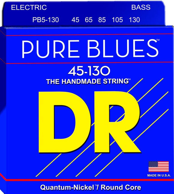 DR Pure Blues Bass Guitar 5Strings 45-130 - Dynamic Music Distribution