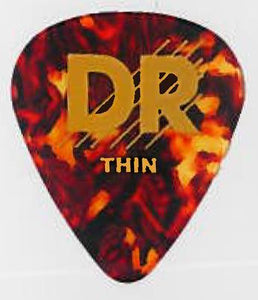 DR Tort Cell Pick 72Pc Pk Thin - Dynamic Music Distribution
