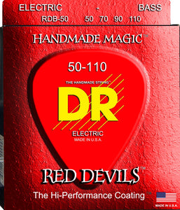 DR Red Devil Bass Guitar Strings 50-110 - Dynamic Music Distribution