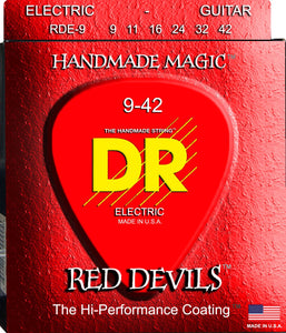 DR Red Devil Electric Guitar Strings 9-42 - Dynamic Music Distribution