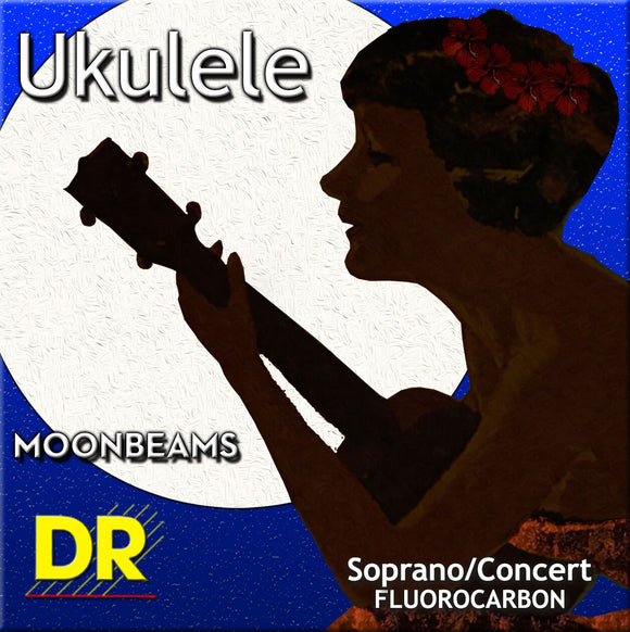 DR Moonbeam Soprano/Concert Uke Strings - Dynamic Music Distribution