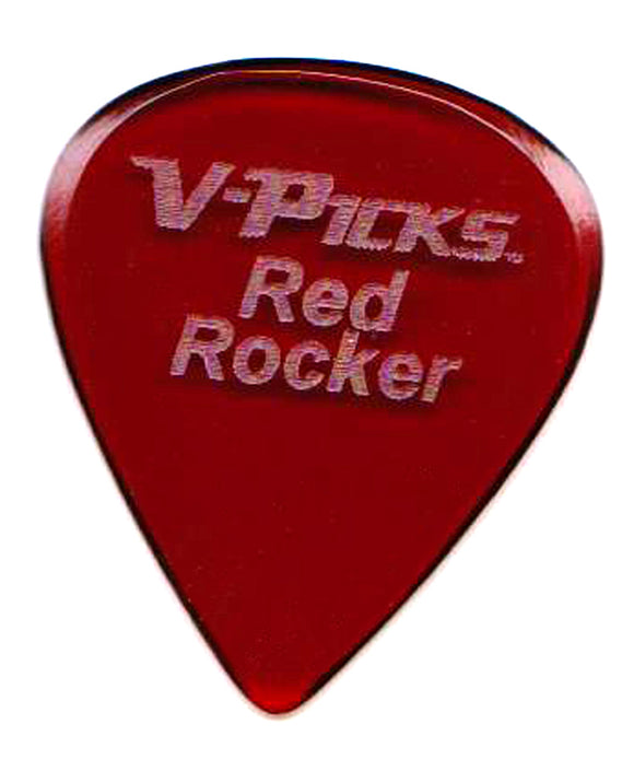 Red Rocker - Guitar Pick