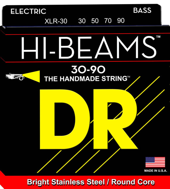 DR Hibeam Bass Guitar Strings 30-90 - Dynamic Music Distribution