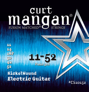 Curt Mangan 11-52 Nickel Wound Electric Guitar Strings - Dynamic Music Distribution