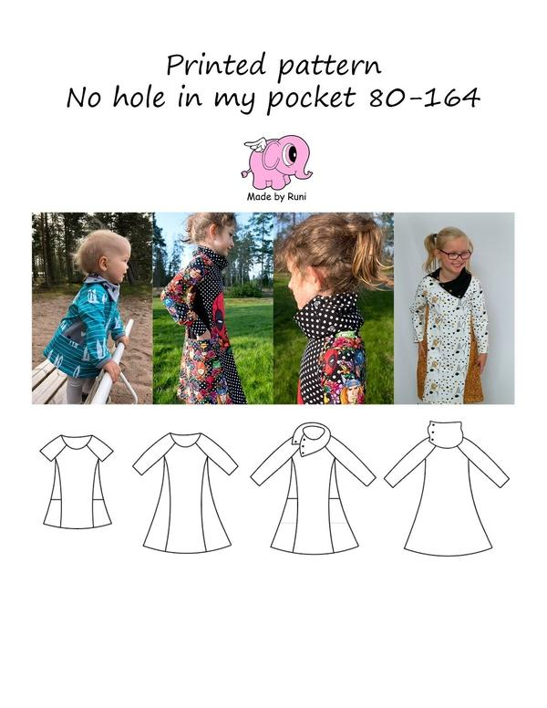 No hole in my pocket child 80-164-Mønstre-MADE BY RUNI-Juels.dk