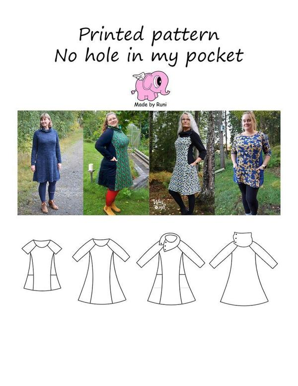 No Hole in my Pocket, woman str. 32-54-Mønstre-MADE BY RUNI-Juels.dk