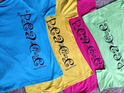 FasterEFT T-Shirts – Peace Design