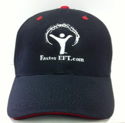 FasterEFT Classic Logo Cap in BLACK with RED trim
