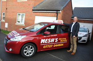 Nick from Mesh's Driving School in Bridgwater