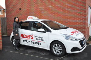 Mesh founder of Mesh's Driving School in Bridgwater
