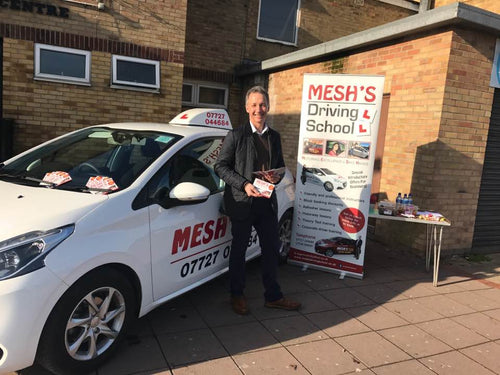 Pay as you go driving lessons - Mesh's Driving School