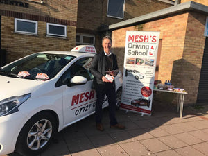 Pay as you go driving lessons (from £25 per hour) - Mesh's Driving School