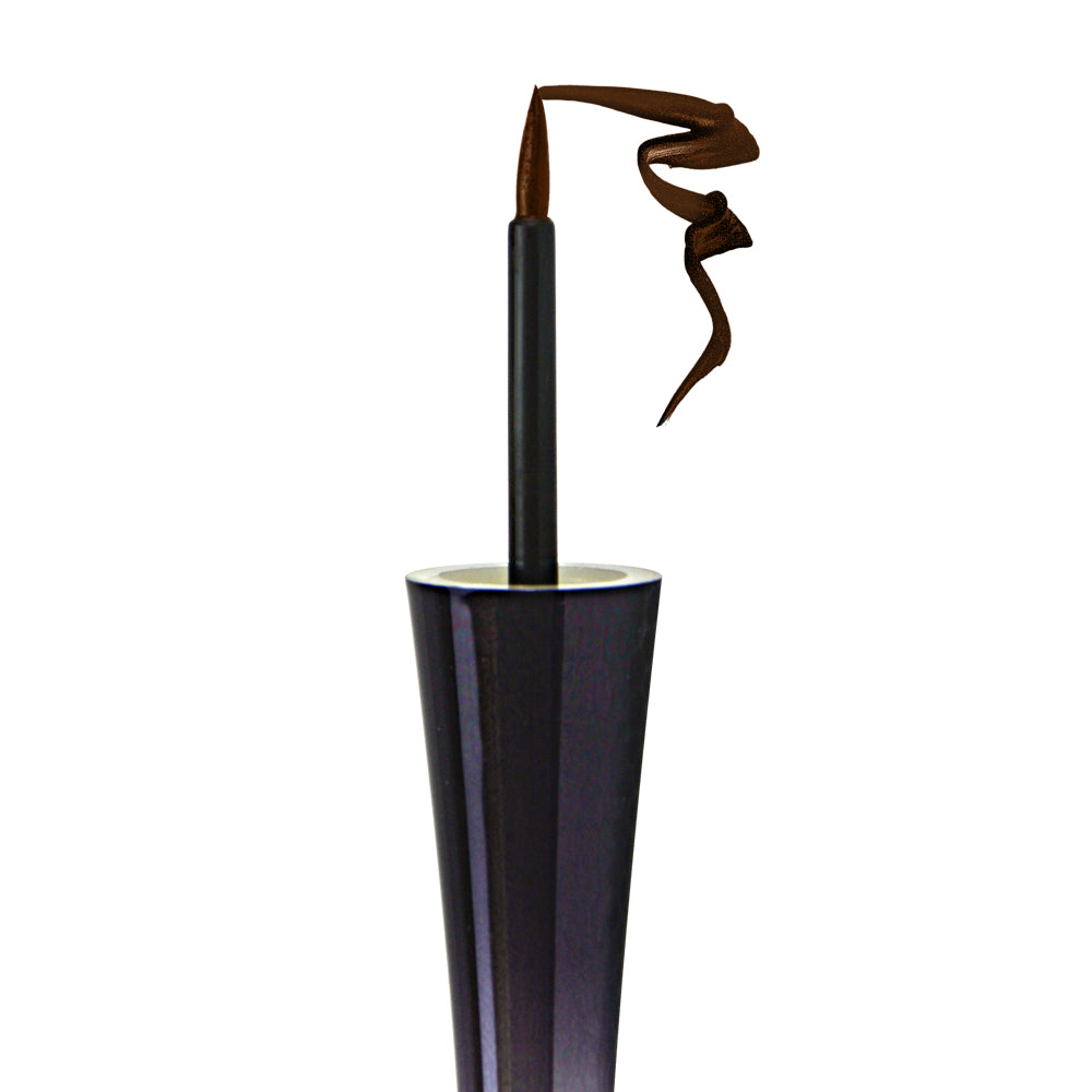 Lashem Color Strokes Liquid Eyeliner with Lash Enhancing Serum - Espresso