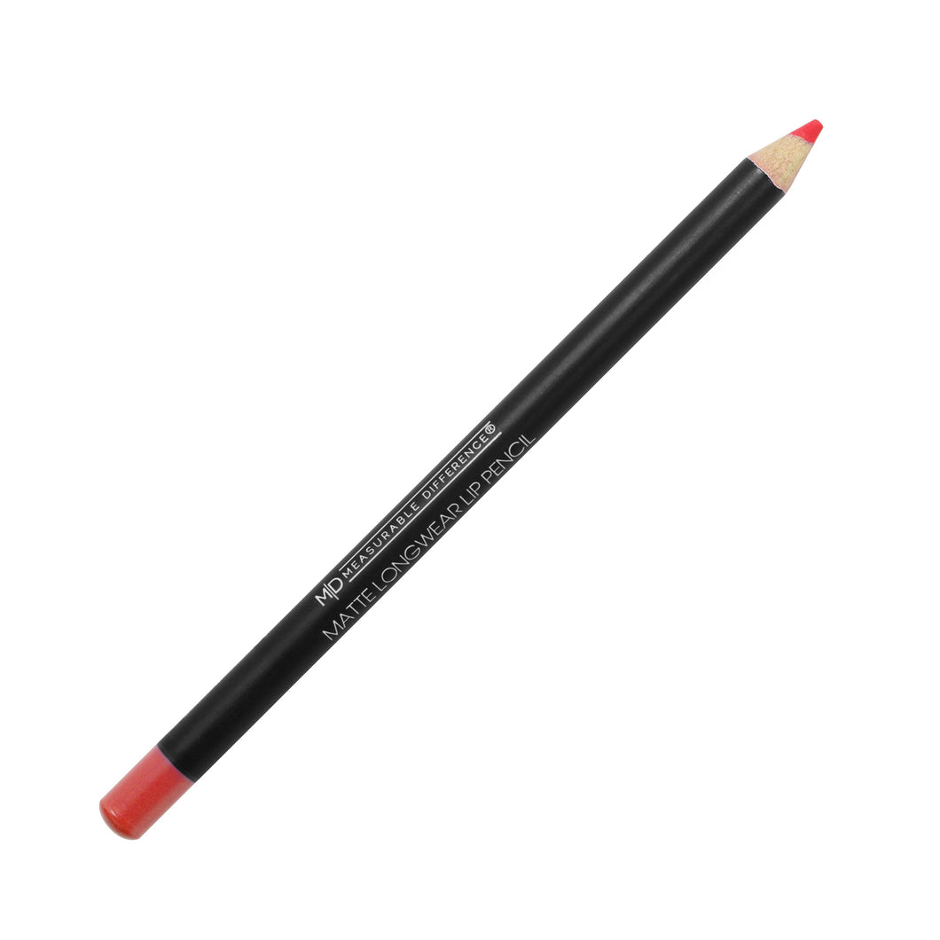 MD Matte Longwear Lip Pencil Blood Orange