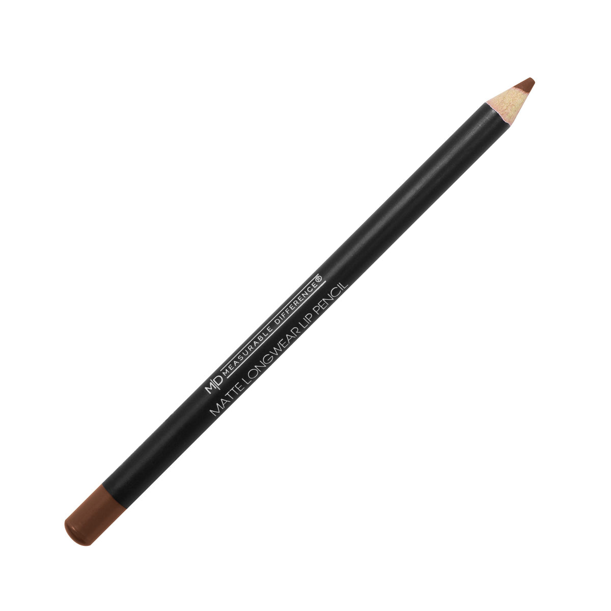 MD Matte Longwear Lip Pencil Brown