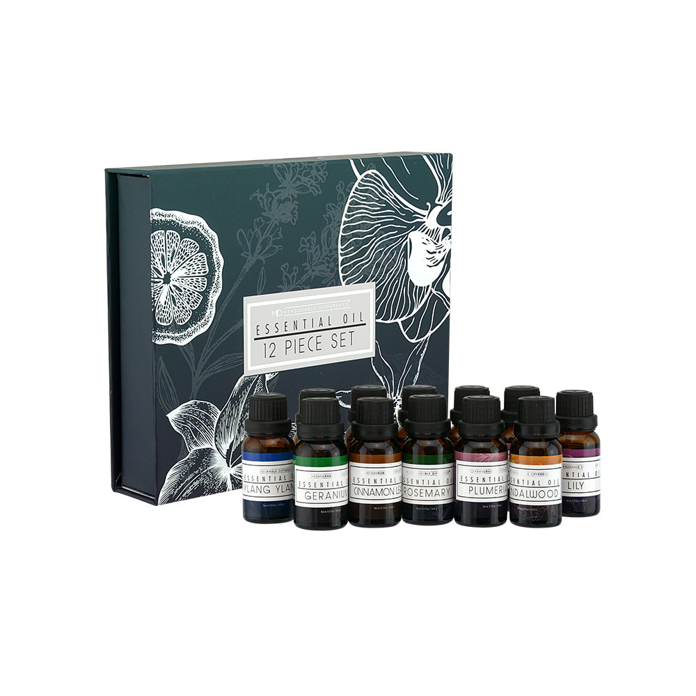 12 PC Essential Oil Set