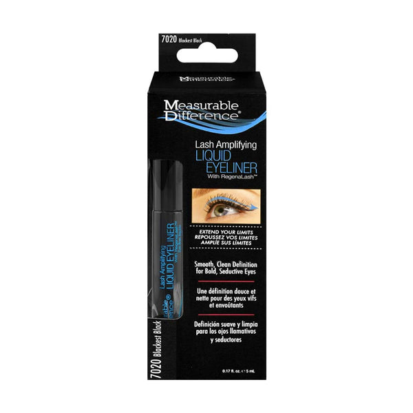 Lash Amplifying Liquid Eyeliner With RegenaLash™ - Blackest Black