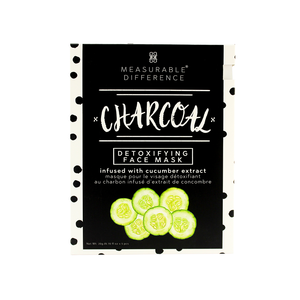 Charcoal Detoxifying Face Mask Infused with Cucumber Extract