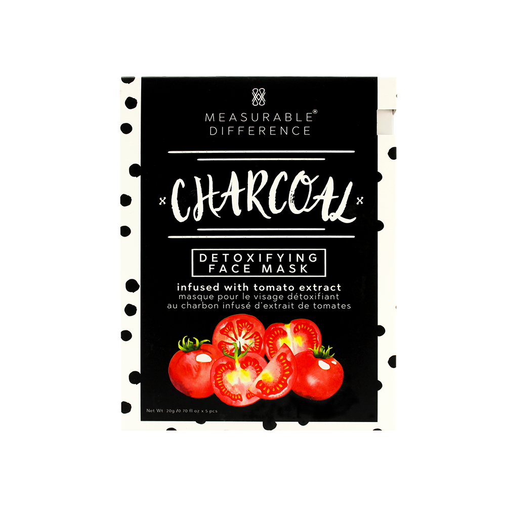 Charcoal Detoxifying Face Mask Infused with Tomato Extract