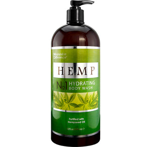 Hemp Hydrating Body Wash Fortified with Hempseed Oil