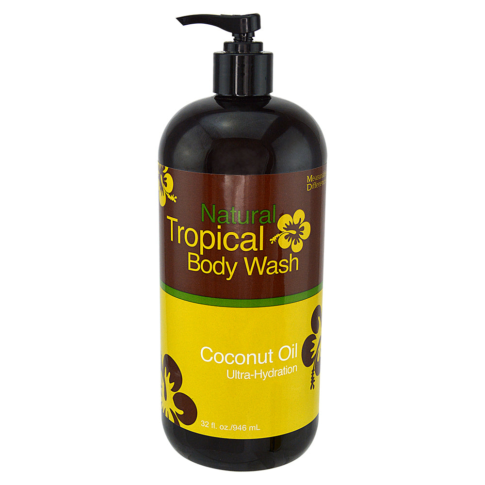 Natural Tropical Coconut Oil Body Wash