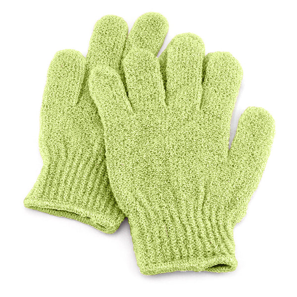 Mint Natural Spa Exfoliating Gloves