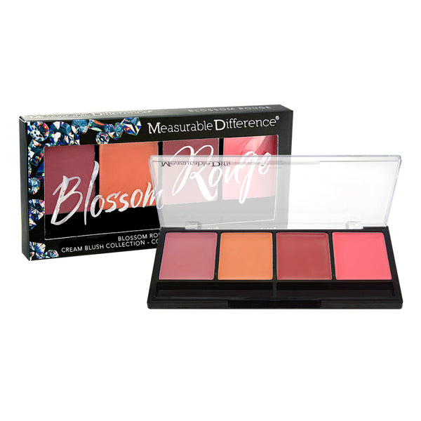 The Diamond Collection Blossom Rouge Cream Blush Palette
