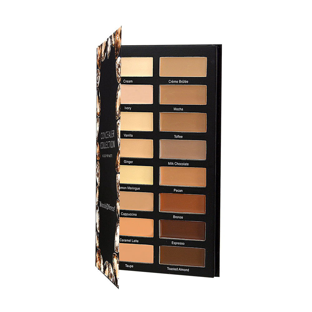The Diamond Collection 16 Color Pro Concealer Palette