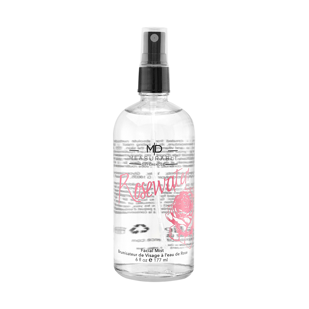 Rosewater Facial Mist Measurable Difference