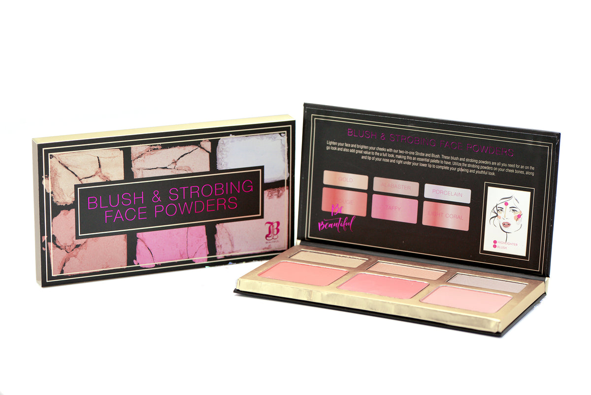Blush, Strobe and Bronzer Palette