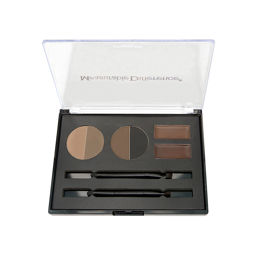 Medium Deep Eyebrow Framing Kit