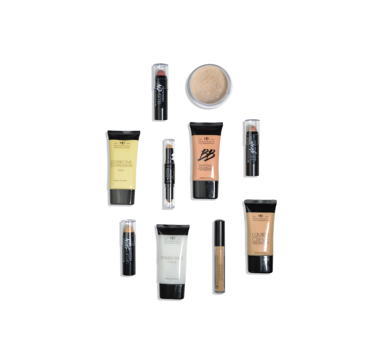 MD Pro Complexion Bundle Box Light Medium