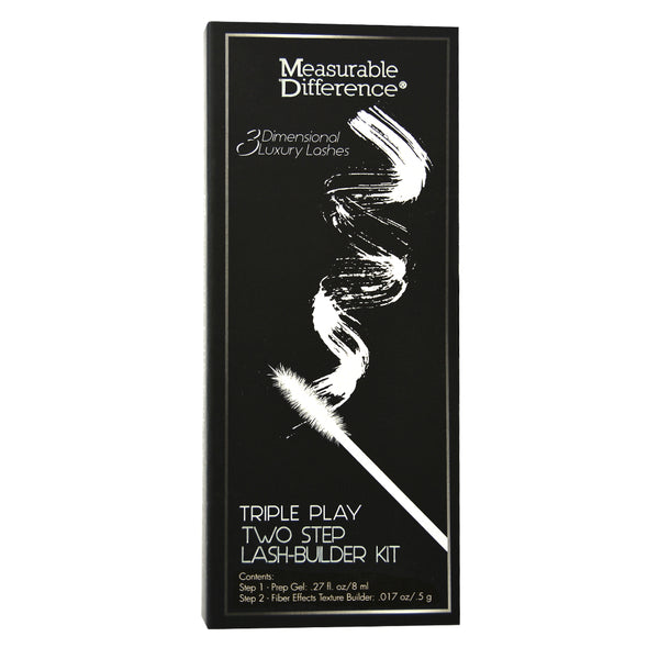 Triple Play Eyelash Extensions Two Step Lash-Builder Kit