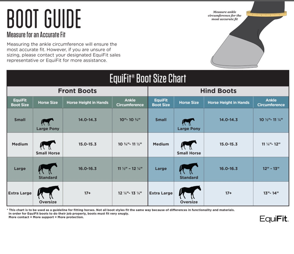 Equifit D-Teq Front Boots