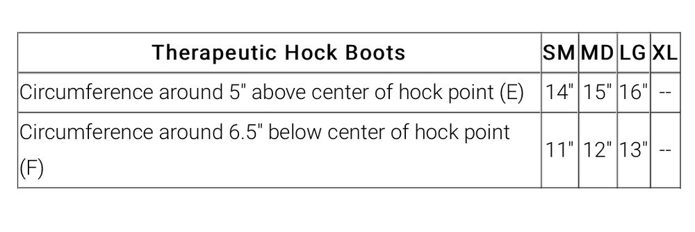 Therapeutic Hock Boots