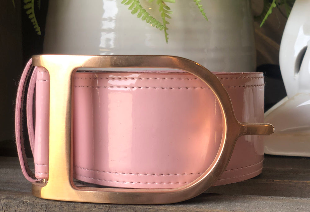 Rose Gold / Light Pink Patent