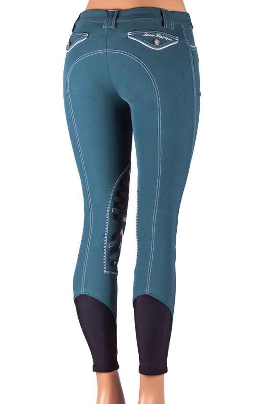 Sarm Hippique REBECCA Breeches with silicone patches