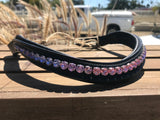 Swarovski Crystal Ombré browbands