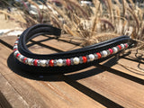 Bling Pearl and Paver Browbands