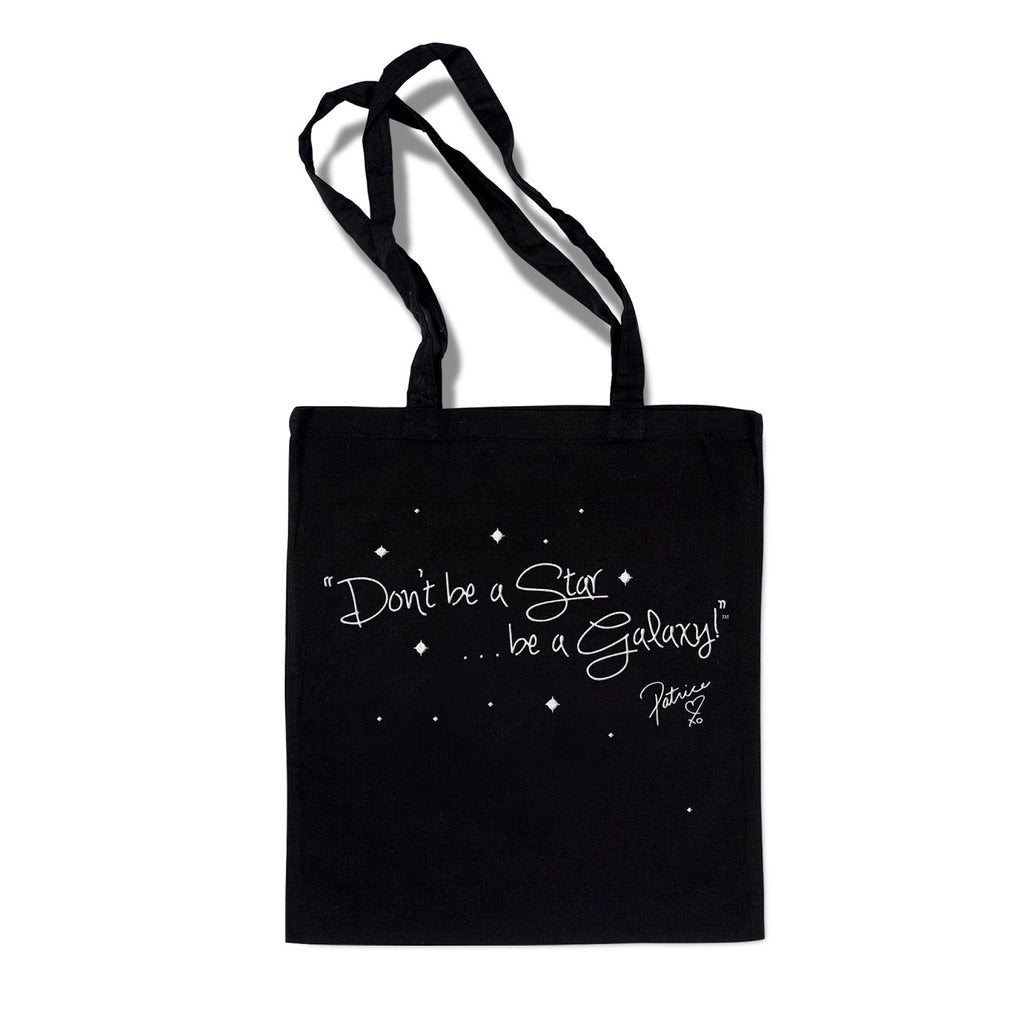Hologram Signature Galaxy Tote Bag