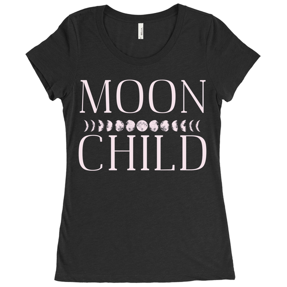 Moon Child Triblend T-shirt - Women