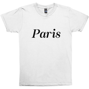 Paris T-shirt - Unisex