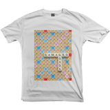 Damaged Goods Scrabble T-shirt - Women